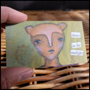 little LOVE creature card 1