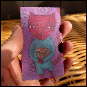 little LOVE creature card 4