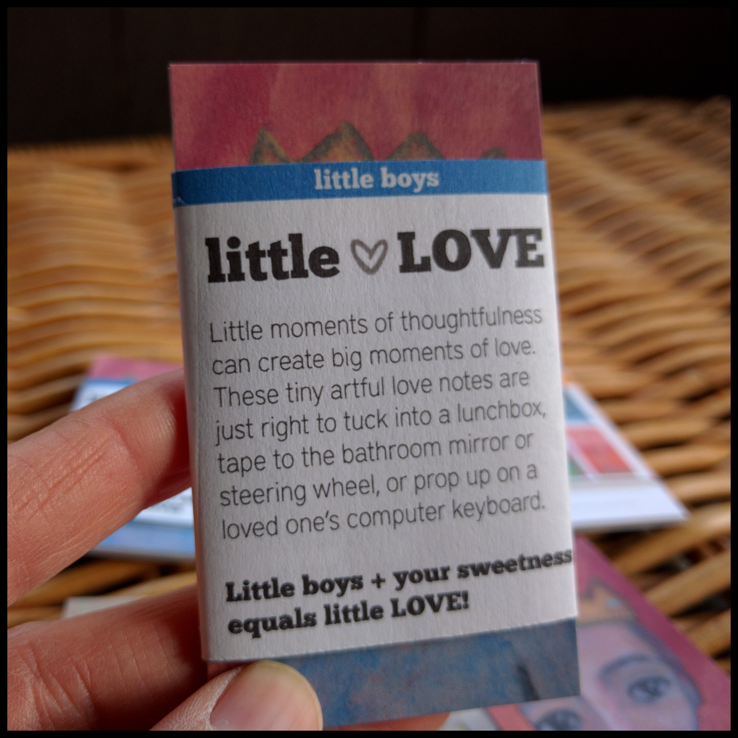 Bathroom Mirror Love Notes little love: lovenotes for sweet boys - tracee vetting wolf